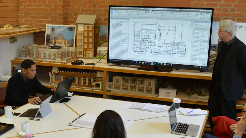 work-life balance for architects meeting Newman Architects