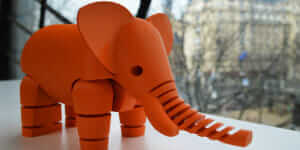 Articulated Elephant [提供: Le FabShop]